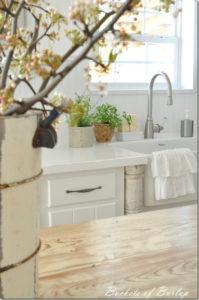 Painted Countertops-Bistro White Valspar