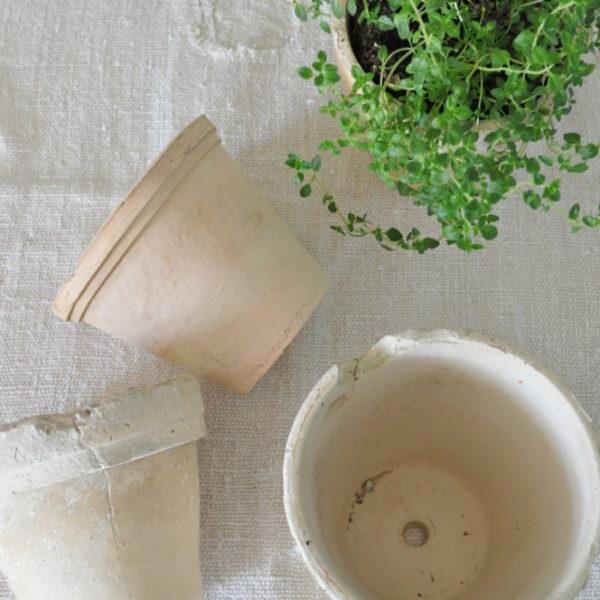 Becky's Farmhouse Clay pots
