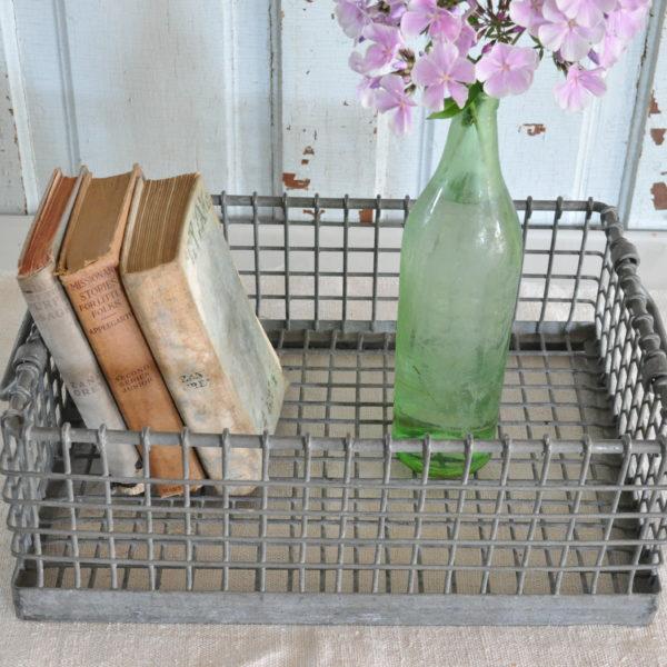 Becky's Farmhouse metal basket