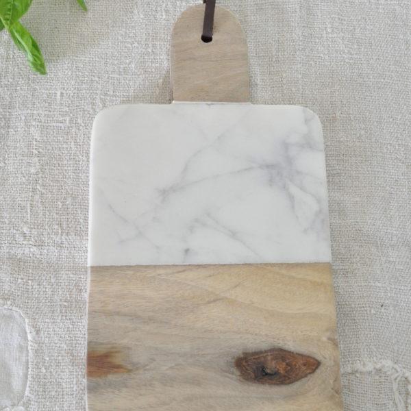 Wood Marble Cheeseboard 3