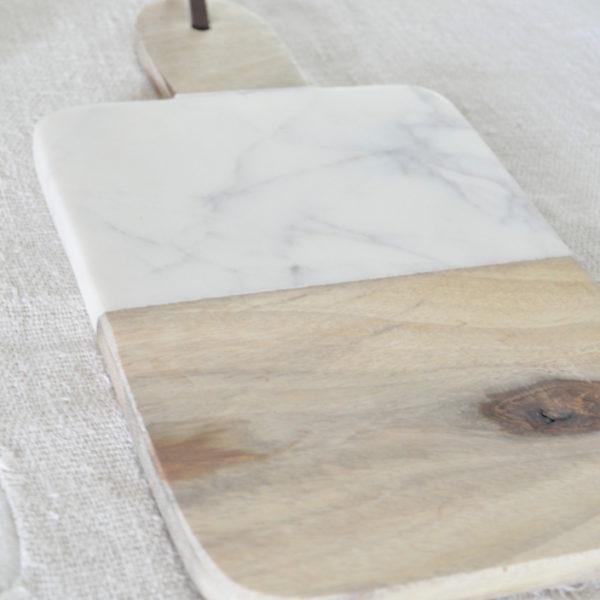 Wood Marble Cheeseboard 4