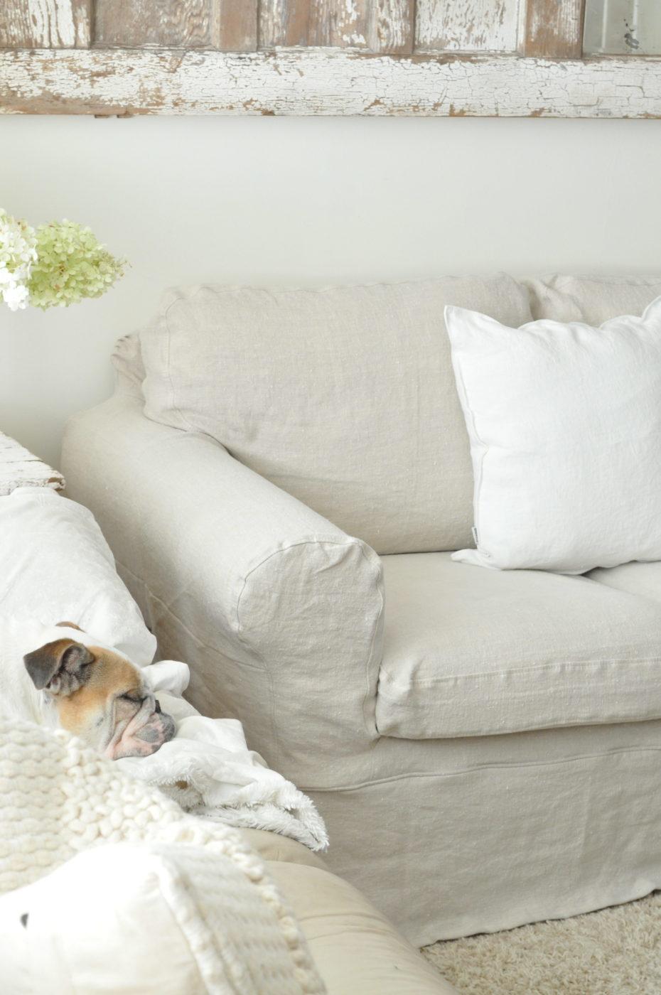 Sofa Slipcovers - Becky\'s Farmhouse